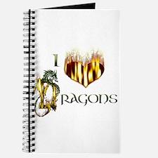 I Heart Dragons Journal