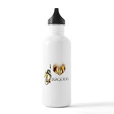I Heart Dragons Water Bottle