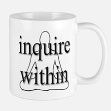 Inquire Within Mug