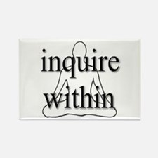 Inquire Within Rectangle Magnet (100 pack)