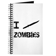 I Stab Zombies Journal