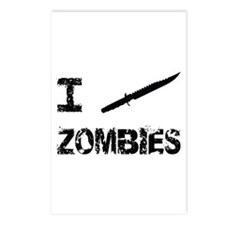 I Stab Zombies Postcards (Package of 8)