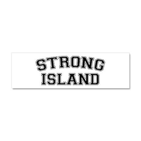 Strong Island Car Magnet 10 x 3