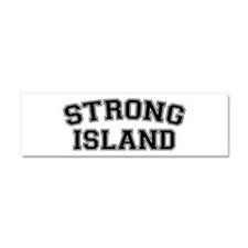 Strong Island Car Magnet 10 x 3
