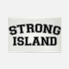 Strong Island Rectangle Magnet