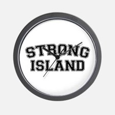 Strong Island Wall Clock