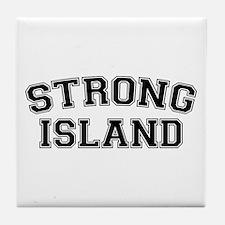 Strong Island Tile Coaster