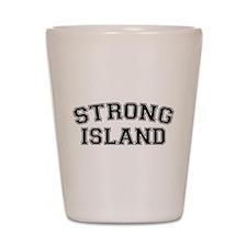 Strong Island Shot Glass