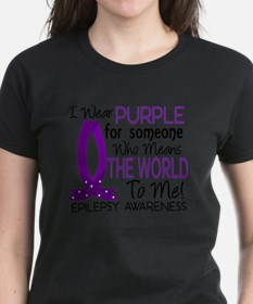 D Means The World To Me Epilepsy T-Shirt