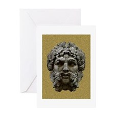 Great Stone Face Greeting Card