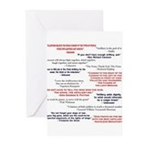 Civil war reenactor Greeting Cards (10 Pack)