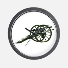 Artillery Lends Dignity Wall Clock