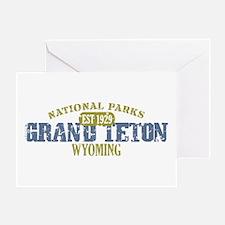Grand Teton National Park Wyo Greeting Card