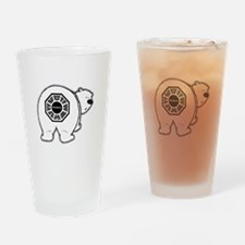 Dharma Bear Drinking Glass