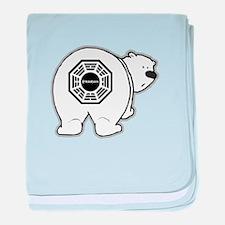 Dharma Bear baby blanket