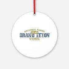 Grand Teton National Park Wyo Ornament (Round)