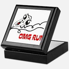 OMG RUN! Keepsake Box