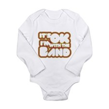 Cute I'm with Long Sleeve Infant Bodysuit