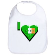 I Love Ireland 26+6=1 Bib