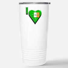 I Love Ireland 26+6=1 Travel Mug