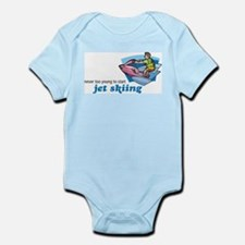 Never Too Young to Start Jet Skiing Infant Creeper