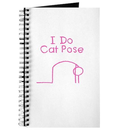 Pink Cat Pose Journal