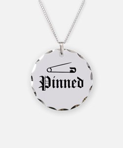 Cool Wrestling pin Necklace