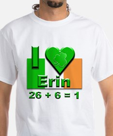 I Love Ireland 26+6=1 #2 Shirt
