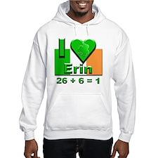 I Love Ireland 26+6=1 #2 Hoodie