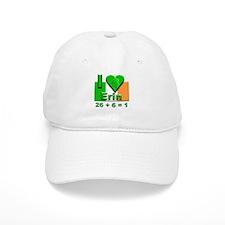 I Love Ireland 26+6=1 #2 Baseball Cap