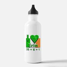 I Love Ireland 26+6=1 #2 Water Bottle