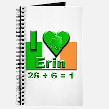 I Love Ireland 26+6=1 #2 Journal