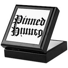 Unique Wrestling pin Keepsake Box