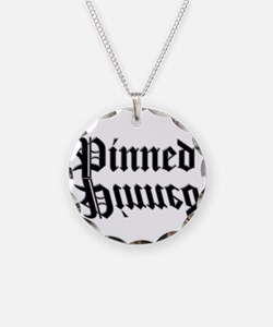 Wrestling pin Necklace