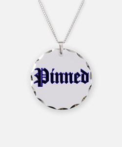 Funny Wrestling pin Necklace