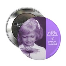 "Melanie in Light Purple 2.25"" Button (10 pack"