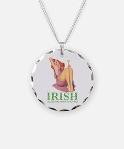 Irish All The Way Down To My Toes Necklace