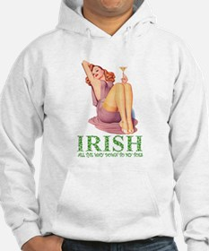 Irish All The Way Down To My Toes Hoodie