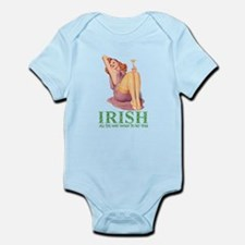 Irish All The Way Down To My Toes Infant Bodysuit