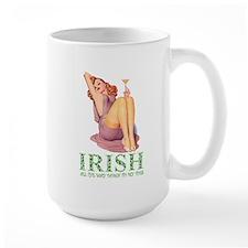 Irish All The Way Down To My Toes Mug