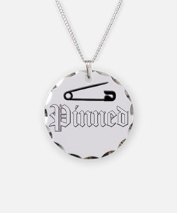 Cute Wrestling pin Necklace