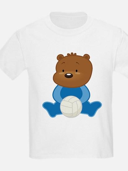 Volleyball Bear T-Shirt