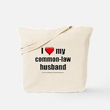 """Love Common-Law Husband"" Tote Bag"
