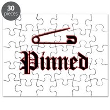 Funny Wrestling pin Puzzle