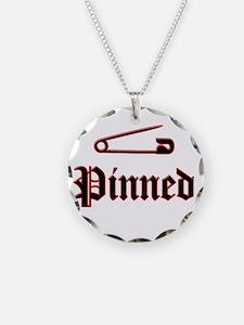 Unique Wrestling pin Necklace