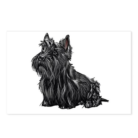 Scottish Terrier Postcards (Package of 8)