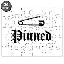 Unique Wrestling pin Puzzle