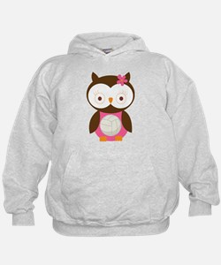 Volleyball Owl Hoodie