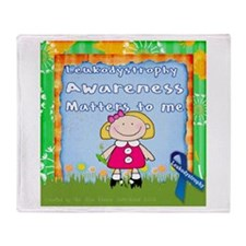 Funny Leukodystrophies Throw Blanket