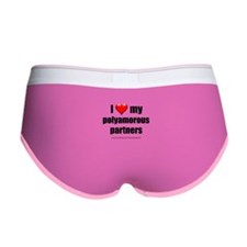 """Love Polyamorous Partners"" Women's Boy Brief"